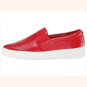 Michael Michael Kors Women Red Sneaker size 9.5